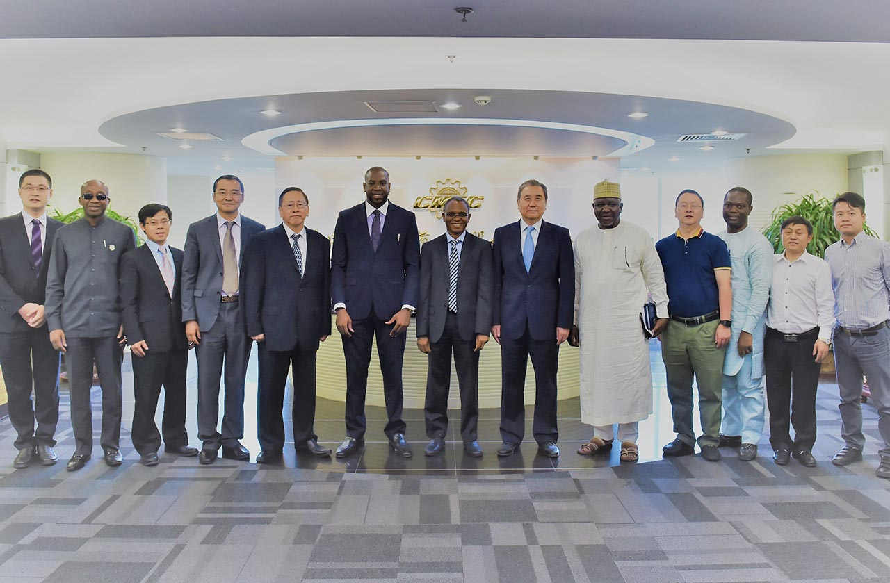 Sheikh Mohamed Bayorh and Governor El Rufai in China